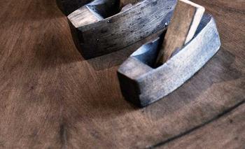 Antique wooden tools