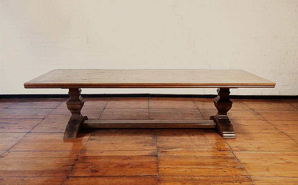 Parquetry Diing table