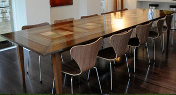 Chequered Dining Table